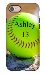 Softball case iPhone 7 Tough Case