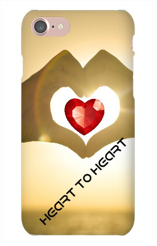 Heat to Heart iPhone 7 Snap On Case