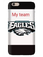The eagles case iPhone 6 Snap On Case