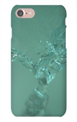 Watered iPhone 7 Snap On Case Matte
