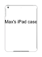 Max 's iPad case iPad Air Snap On Case