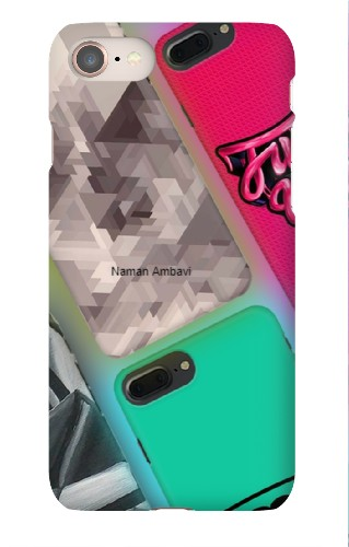 iPhone 8 Snap on Case  #21750