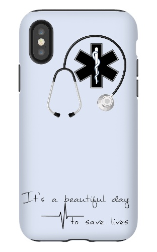 iPhone X Tough Case  #22038
