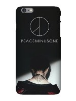 peaceminus 1 iPhone 6 Plus Snap On Case