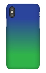 The breen glue iPhone X Snap Case Matte