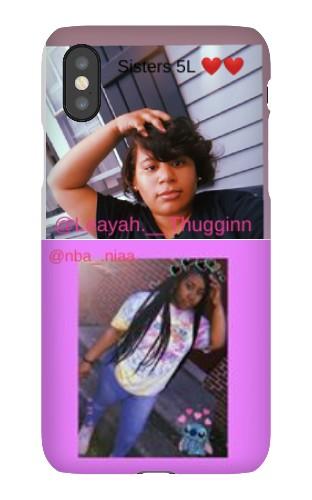 sisters 5l iPhone X Snap Case Matte