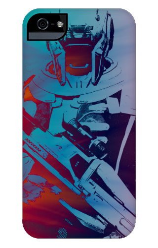 Awesome Sci Fi Robot Case iPhone 5 and 5s Tough Case