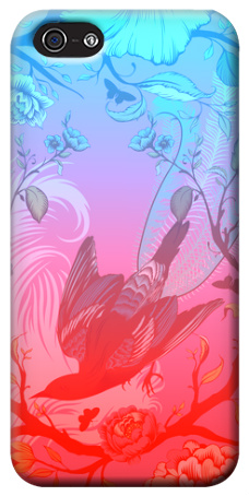 Cool Bird Design iPhone 5 Case