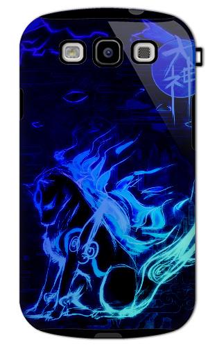 Kewl Okami Style Image Samsung Galaxy S3 Tough Case