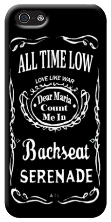 All Time Low Song Titles iPhone 5 Case