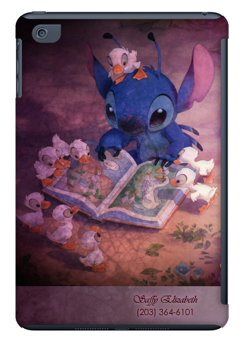Stitch Storytime iPad Mini Matte Case