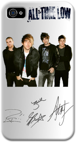 All Time Low iPhone 4 and 4S Thinshield Black