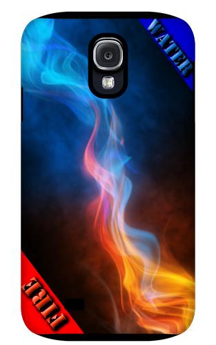 Water meets Fire Samsung Galaxy S4 Tough Case