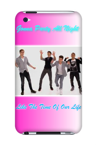 Time of our life BTR Screen iPod Touch 4 Case