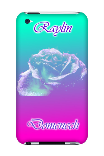 i am a flower lover! iPod Touch 4 Case