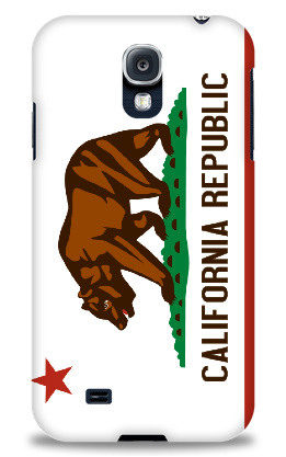 California Republic Flag Samsung Galaxy S4 Case