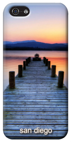 Sunset Pier iPhone 5 Case