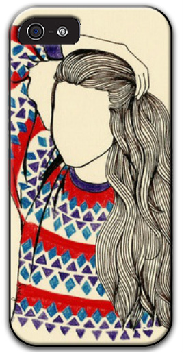 girl iPhone 5 and 5s Thinshield Case