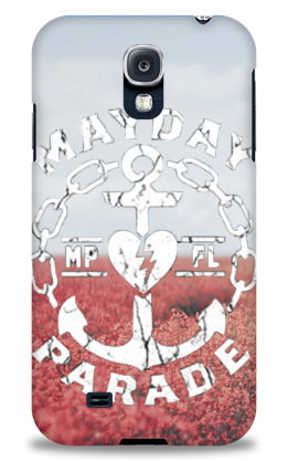 Mayday Parade Anchor Design Samsung Galaxy S4 Case