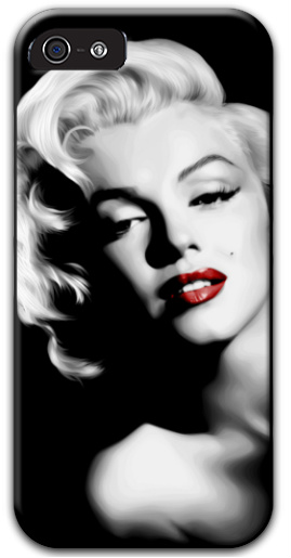Marilyn Monroe Red Lips iPhone 5 and 5s Thinshield Case