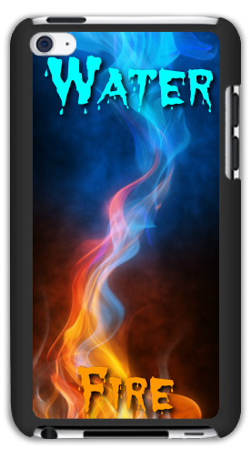 Water And Fire iPod Touch 4 Matte Case