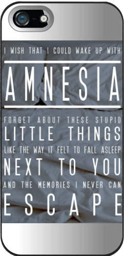 amnesia lyrics iPhone 5 and 5s Thinshield Case