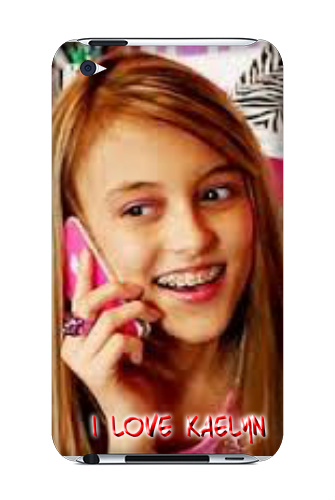Kaelyn From SevenSuperGirls on YouT iPod Touch 4 Case