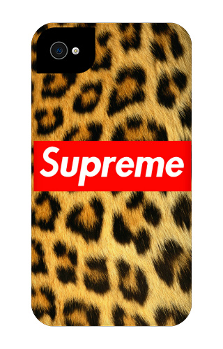 Supreme iPhone 4 Tough Case