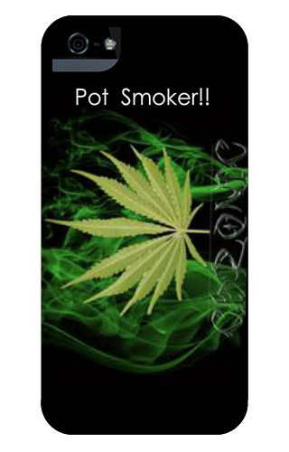Pot smoker iPhone 5 and 5s Tough Case