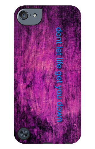 life motto iPod Touch 5 Tough Case