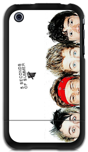 5 Seconds Of Summer Heads iPhone 3G iPhone 3GS Case