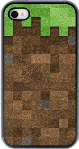 Minecraft grass iPhone 4 and 4S Guardian Case