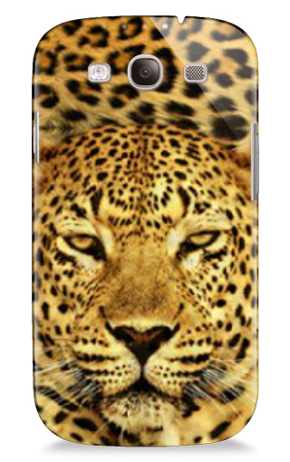 leopard head pattern Samsung Galaxy S3 Case