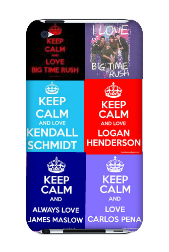 my BTR case iPod Touch 4 Case