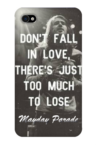 Mayday Parade Terrible Things iPhon iPhone 4 Snap On Case