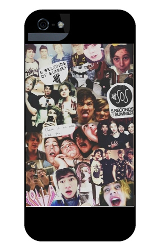 5sos collage iPhone 5 Case