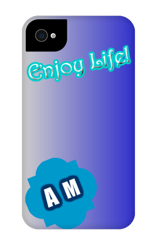 "The ""happy"" case iPhone 4 Tough Case"