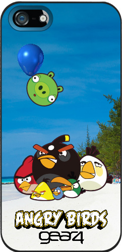 Angry Birds IPhone 5/5s Case Gear4 iPhone 5 and 5s Thinshield Case