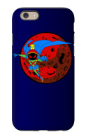 Marvin the Martian Manhunter iPhone 6 Tough Case