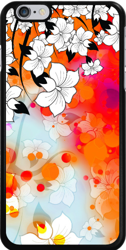 Tropical Flower Motif iPhone 6 Plus Thinshield