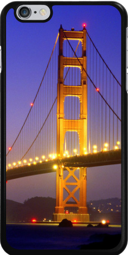 Golden Gate at Night Case Monkey Case