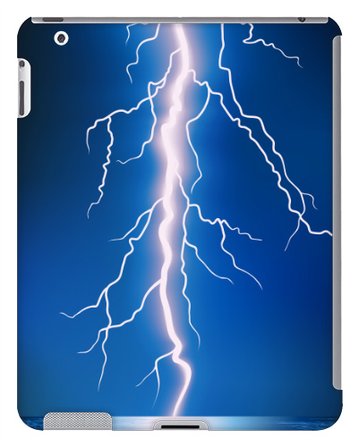 Lightning Bolt iPad 2 and 3 Case