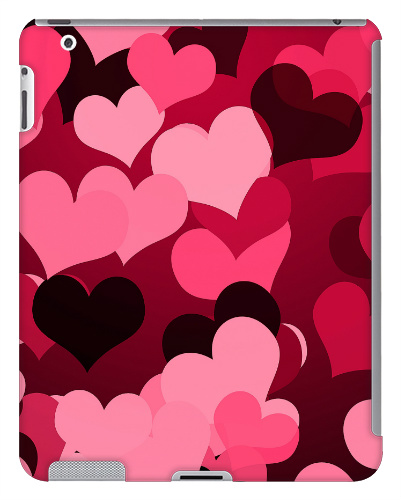 Hearts on Hearts iPad 2 and 3 Case