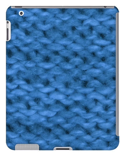 Knit Wool Yarn iPad 2 and 3 Case