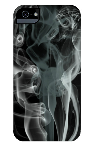 Black Smoke iPhone 5 and 5s Tough Case