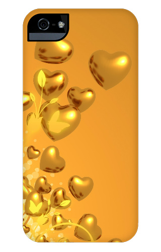 Heart of Gold iPhone 5 and 5s Tough Case