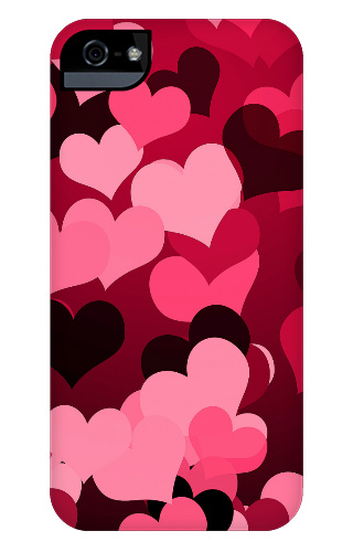 Hearts on Hearts iPhone 5 and 5s Tough Case