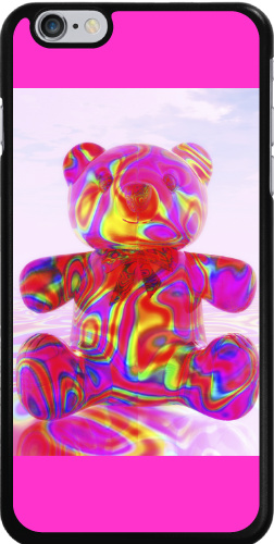 Pink Beary Bear iPhone 6 Plus Thinshield