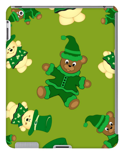 St Pattys Day Bears iPad 2 and 3 Case