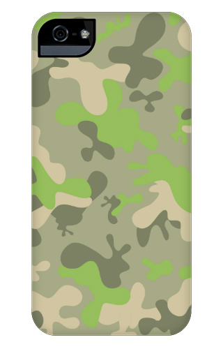 Fun Camo iPhone 5 and 5s Tough Case